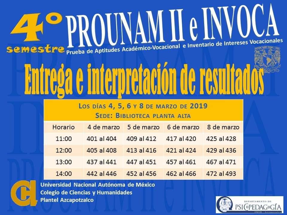 PROUNAM II e INVOCA
