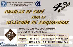 Charlas de Café para la Selección de Asignaturas