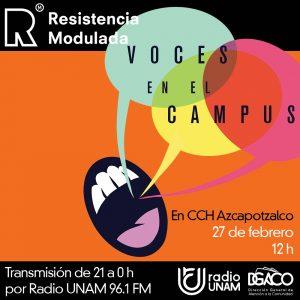 Voces en el Campus Radio UNAM
