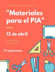 Materiales para el PIA